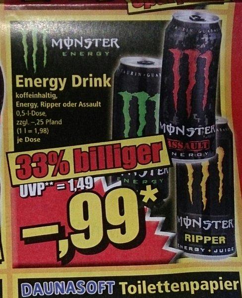 Monster für 0,99€ @ Norma ab 13.6.
