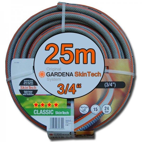 "GARDENA CLASSIC SKINTECH 25M 3/4"" 19MM GARTENSCHLAUCH für 29,95 @ebay.de"