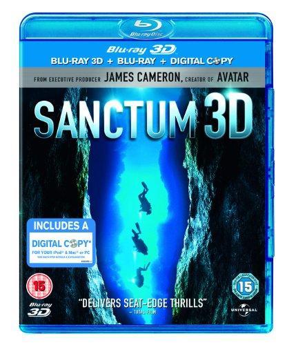 Sanctum Blu-ray 3D (Englisch) für 14,60 Euro bei zavvi