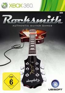 [Bücher.de] Rocksmith - Authentic Guitar Games inkl. Kabel (Xbox 360) für 25,99 Euro (inkl. Versand) deutsche Version
