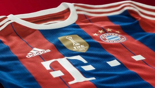 FC Bayern München Herren Trikot 2014/2014 mit Club-WM Flock