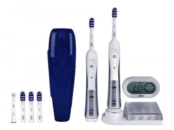 [Amazon Blitzangebot] Braun Oral-B TriZone 5500 + 2.Handstück Elektrische Premium-Zahnbürste (mit Reise-Etui und SmartGuide) für 109.99EUR