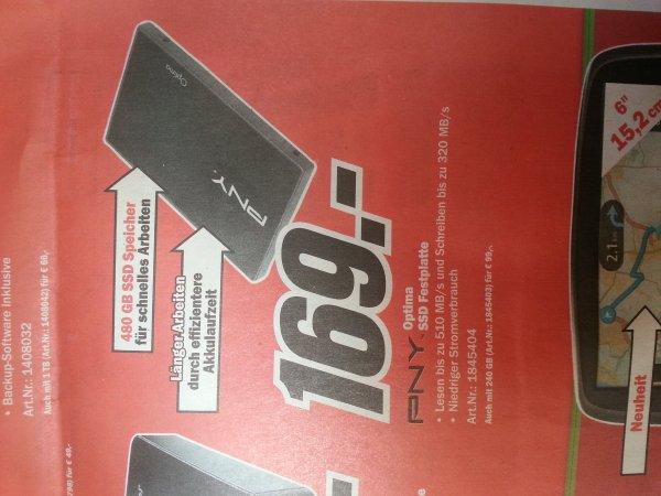[MediaMarkt] PNY Optima SSD 480GByte