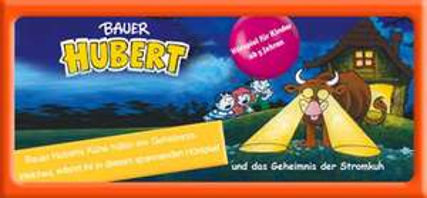 """Gratis Hörspiel für Kinder: """"Bauer Hubert und das Geheimnis der Stromkuh"""""""