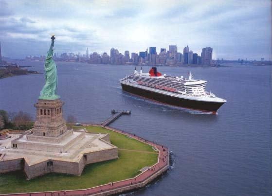 New York - Hamburg auf der Queen Mary 2 incl. Flug und Hotel 5.- 15. Juli ab EUR 1.075