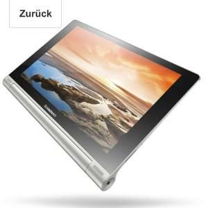 Lenovo Yoga10 25,4 cm (10 Zoll HD IPS) Tablet (ARM MTK 8389, 1,2GHz, 1GB RAM, 16GB eMMC, Android, 3G, Tastatur) grau