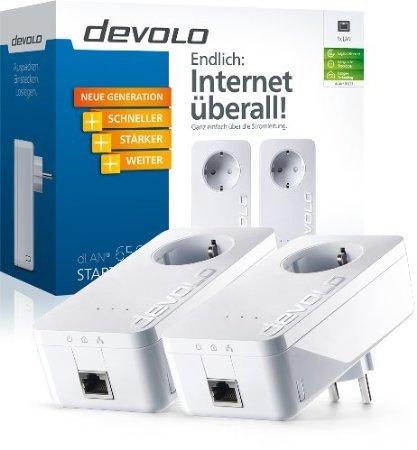 Devolo dLAN Powerline 650+ Starter Kit  für 95,99€