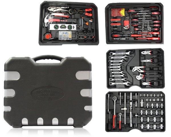 Toolwelle Werkzeugtrolley mit 186-teiligen Werkzeugset für 89,95€ @1dayfly.com