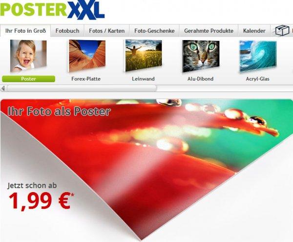 PosterXXL 50% Rabatt beim großen 160cm X 80cm Poster INKLUSIVE hochwertigen, stabilisierenden Schutzlaminat