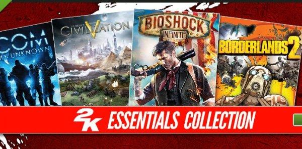 [Steam] 2K Essential Collection (Borderlands 2, XCOM Enemy Unknown, Civilization V, BioShock Infinite) + Spec Ops: The Line für zusammen 16,83 €