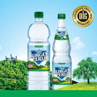 [71723 Großbottwar] 2 Glasflaschen Burgenperle Medium 0,7l kostenlos