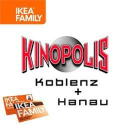 hanau koblenz rabatte im kinopolis mit der ikea family card. Black Bedroom Furniture Sets. Home Design Ideas