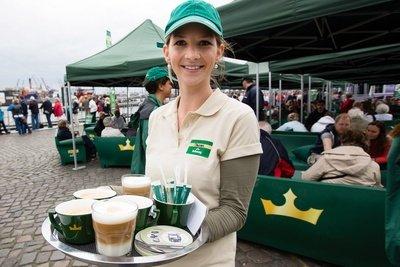 Jacobs Krönung: kostenlose Kaffeespezialitäten und Milka Snacks am 14.06. @ LEIPZIG Augustusplatz