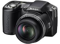 NIKON Coolpix L100 Bridge-Kamera/Kompakte mit großen Zoom 15x