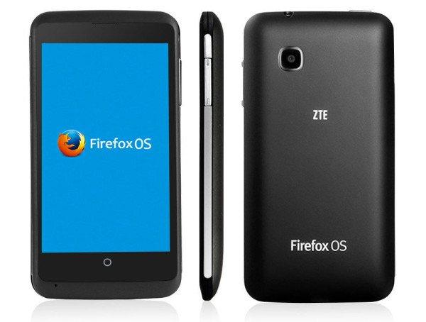 """ZTE Open C für 75€ - 4"""" Firefox-OS / Android Dual-Boote Handy @eBay"""