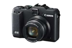 [amazon.uk Blitzangebot] Canon Powers­hot G15 ( 13.3 Mega­pi­xel,5 -x opt. Zoom (3 Zoll Dis­play) inkl. Vsk für ~ 327 €