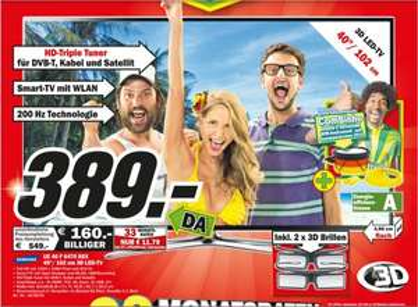 (Media Markt Offline ) Samsung 40F 6470SSX Am Helweg 4 31655 Stadthagen