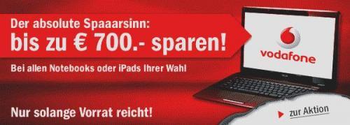 700€ Gutschein bei redcoon mit Vodafone MobileInternet 39,95€/Monat