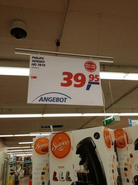 Senseo HD 7810 @ Real (evtl. lokal!? - Bremen-Vahr) - 39,95€