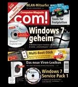 2 Ausgaben com! mit DVD kostenlos (kann per Fax gekündigt werden) für Umfrage