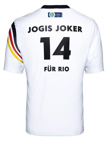 """[HAMBURG] Kostenloses DFB-Fan-Shirt """"JOGIS JOKER FÜR RIO"""" NUR HEUTE!"""