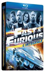 Fast & Furious Collection Steelbook (Teil 1-5) (Blu-ray) für 21,35€ @Amazon.fr