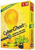 Cyberghost VPN: 365 Tage Premium für 14€ + 3 FREIEN LIZENZEN für Freunde (statt 29,99€)