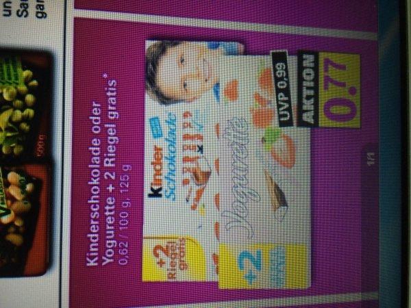 Netto Samstagskracher!  Kinderriegel/Yogurette 77 Cent (+2 Extrariegel)