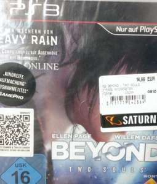 [lokal] Saturn Leverkusen Beyond Two Souls PS3 14,99€