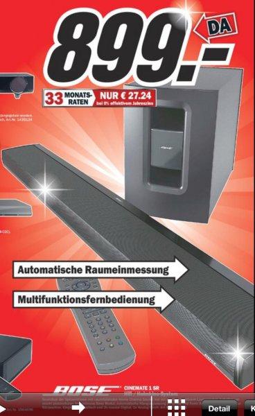 [MM – LOKAL Schleswig] Bose Soundbar für effektiv 799€ statt 1333€