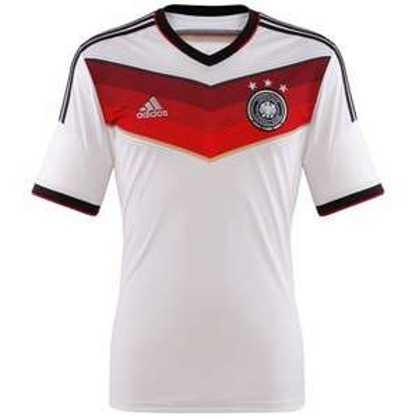 Adidas DFB WM Trikot DFB Herren 2014 (S-XXXL) weiß + Füllartikel z.B. Nike Socken [dailydeal+mysportworld]