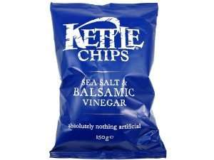 [Amazon Prime] 4 Packungen Kettle-Chips (4x 150g) Balsamic Vinegar (oder Black Pepper) für 5,99€ statt 11,99€ dank Coupies