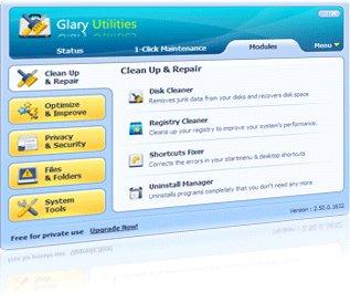 Glary Utilities PRO 5.1.0.4 KOSTENLOS *neueste Version*