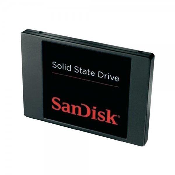 """Interne SSD-Festplatte 6.35 cm (2.5 """") 128 GB SanDisk Solid SATA III für 42,50€ @Conrad"""