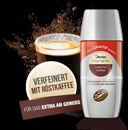 Jacobs Kaffee Gratis testen,