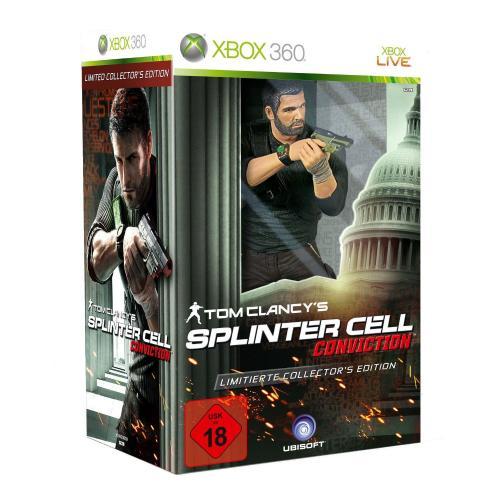 XBOX360 - Tom Clancy's Splinter Cell: Conviction Collect