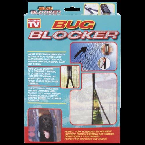 Tür-Fliegengitter Bug-Blocker bei action Lokal, Fliegenvorhang  magnetisches Klicksystem 2x 210x50 cm