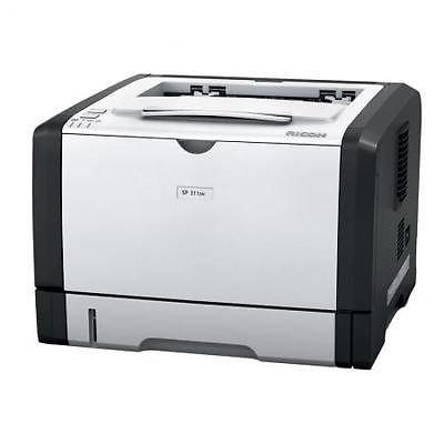 [eBay/redcoon] Ricoh Aficio SP 311DN s/w Laserdrucker (Duplex, LAN) 69€ inkl. VSK
