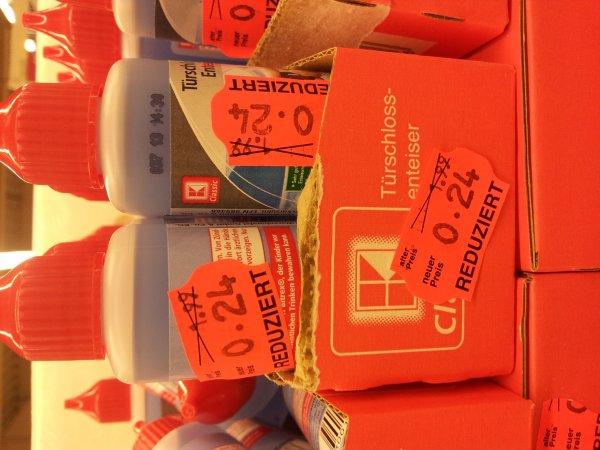 Kaufland Gera - Türschlossenteiser 0,24 Cent statt 1,99 Euro