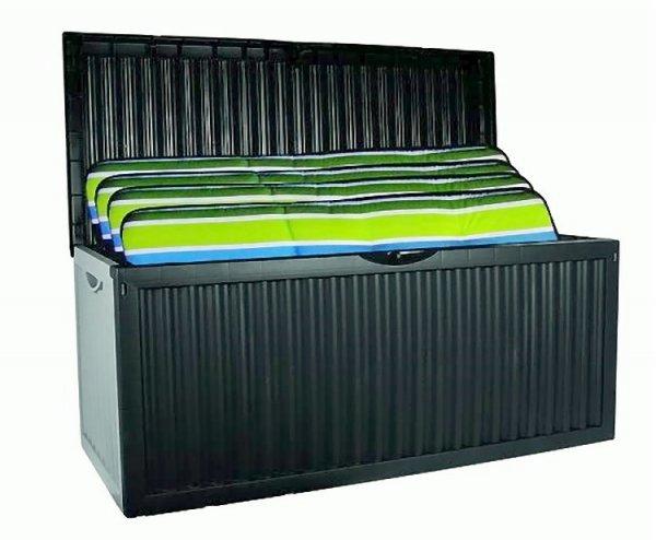 """XL Garten Auflagenbox """"Wave"""" 350L Kunststoff @ebay 29,00€"""