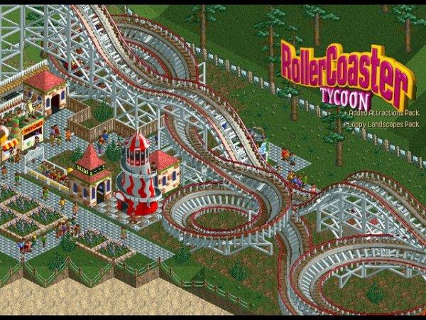 Roller Coaster Tycoon 1-3 für 8,97 $ ? 6,62 € [gog.com]