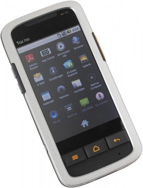 Outdoor Smartphone TakWak tw700 mit Navi, Walkie Talkie