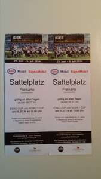 50 € bei ESSO tanken und 2 Derby Freikarten für den 05.07.2014 in Hamburg geschenkt bekommen