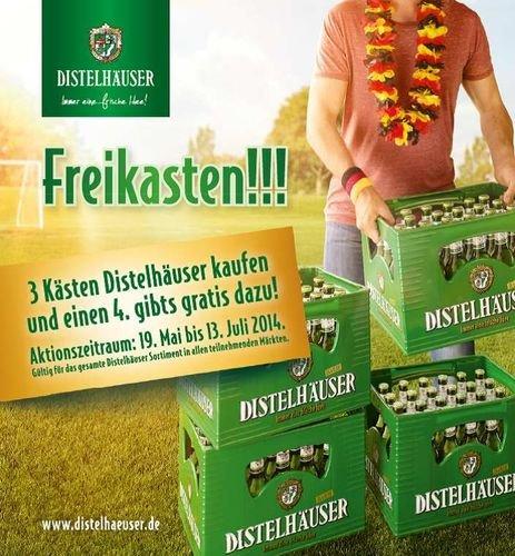 Real Würzburg?: 10 % Kasten Bier Distelhäuser