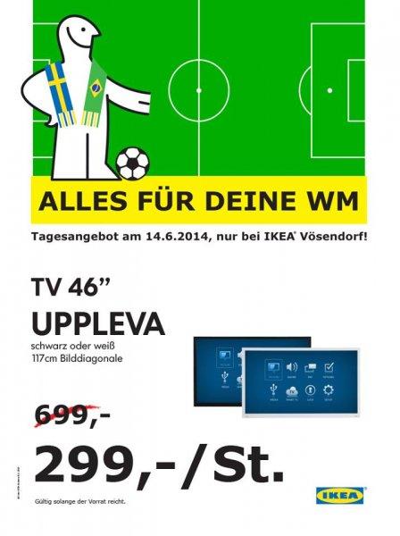 """[IKEA Österreich Vösendorf] UPPLEVA Fernseher 46"""" für € 299 statt € 699!"""