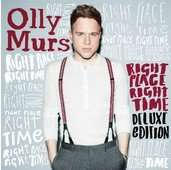 iTunes --> Olly Murs Album (Right Place Right Time Deluxe Edition) inkl. 4 Videos für 3,99€ statt 7,99€