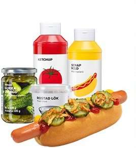 ikea bundesweit hotdog party paket 32 hotdogs f r z b die wm party zu hause statt 27 25. Black Bedroom Furniture Sets. Home Design Ideas