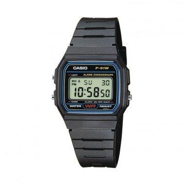 UPDATE Casio Digital Quarz F-91W-1YEF Herren Armbanduhr (eBay) für 8,99€