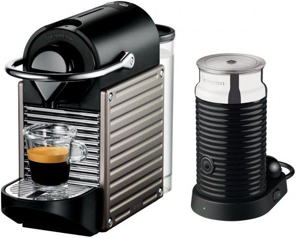 KRUPS Nespresso Pixie XN301T Edelstahl + Aeroccino3 rechnerisch für 55EUR
