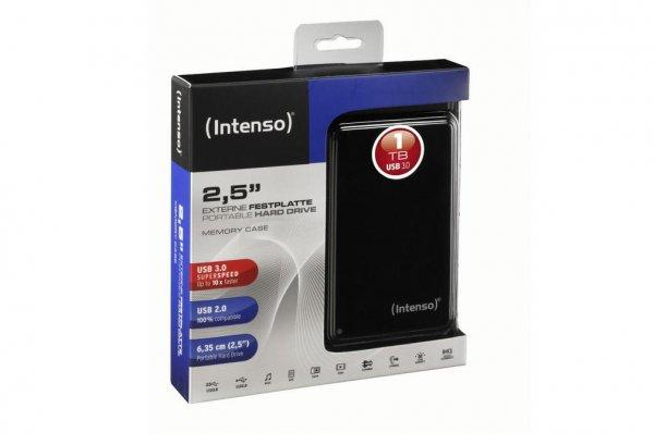 Ebay WOW/Amazon in Weiß Intenso externe Festplatte Memory Drive 1TB USB 3.0 HDD  2,5 Zoll